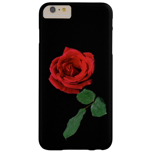 Single Red Rose iPhone 6 Plus Case