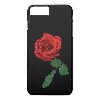 Single Red Rose iPhone 7 Plus Case