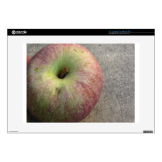 """Single ripe apple decals for 15"""" laptops"""