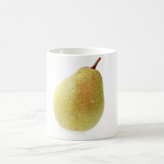 Single ripe pear coffee mug