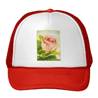 """Single Rose"" Classic Truckers Hat"