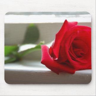Single Rose Mousepad