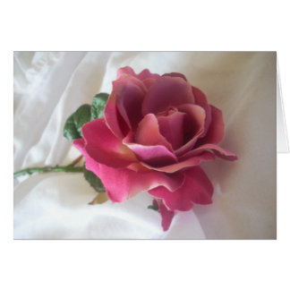 Single Rose Note cards