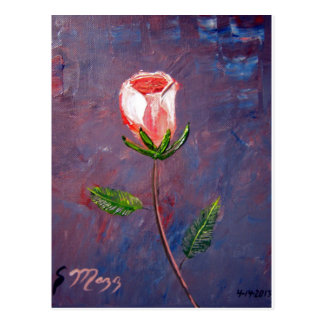 Single Rose Postcard