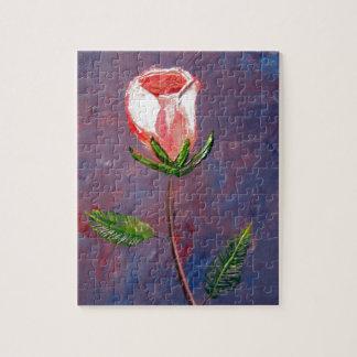 Single Rose Puzzle