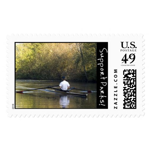 Single Rower Stamp