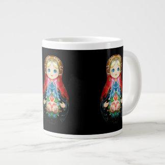 Single Russian doll Giant Coffee Mug