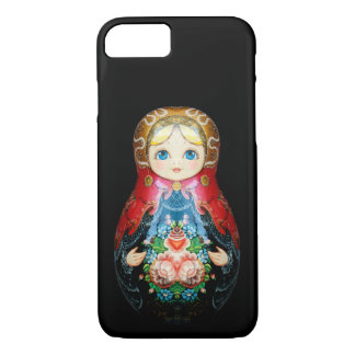 Single Russian doll iPhone 8/7 Case