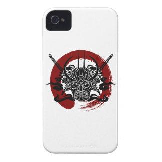 Single Samurai Enso Blood Circle Case-Mate iPhone 4 Case