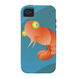 single shrimp iPhone 4/4S covers