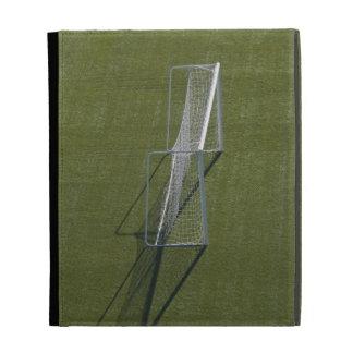 Single Soccer Goal iPad Folio Covers