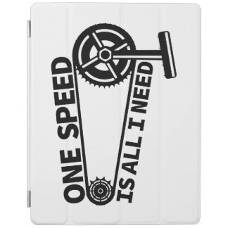 Single speed / fixed gear bicycle crankset iPad smart cover