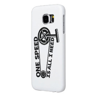 Single Speed Fixed Gear Bicycle Samsung Galaxy S6 Case