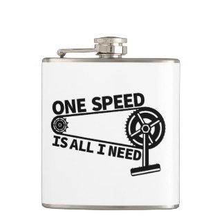 Single Speed Fixed Gear Bike Flask