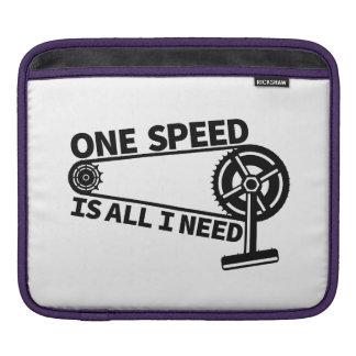 Single Speed Fixed Gear Bike Sleeve For iPads