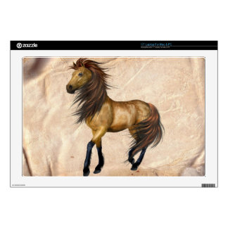 Single Stallion Horse Laptop Skin