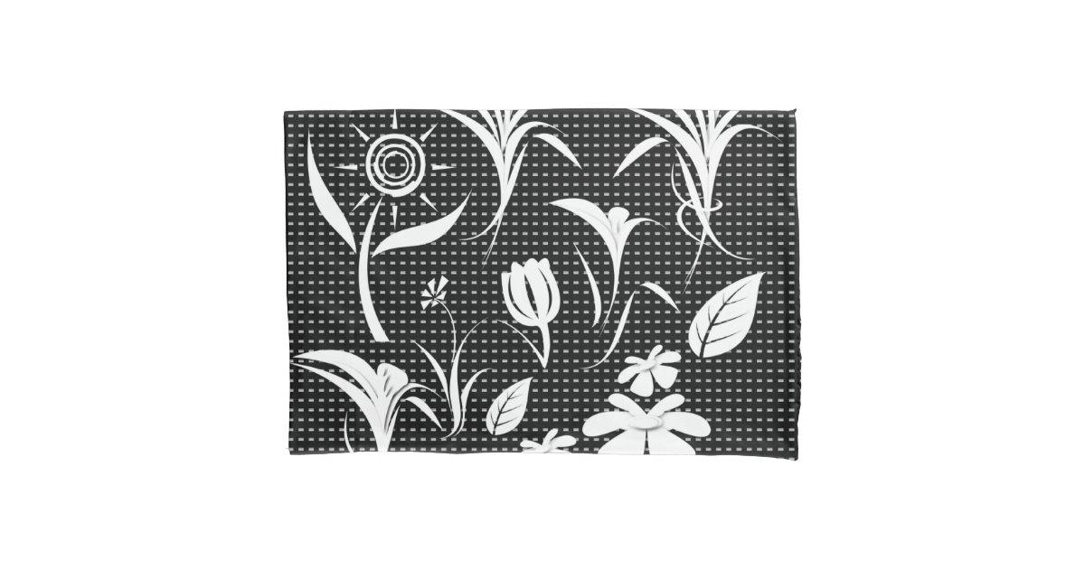 single standard size pillowcase zazzle. Black Bedroom Furniture Sets. Home Design Ideas