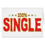 Single Star Tag Cards