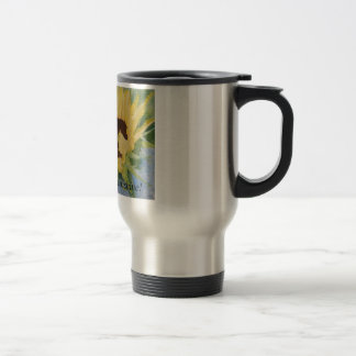 single sunflower, Good Morning Sunshine! Travel Mug