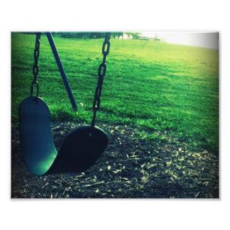 Single Swing Photographic Print