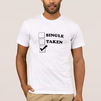 Single Taken Checkbox T-Shirt