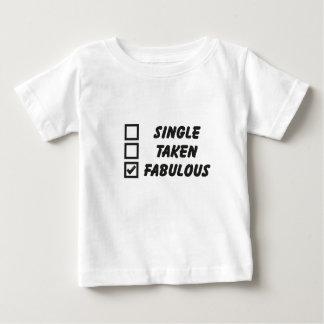 Single, taken, fabulous tee shirts