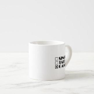 Single Taken or Gamer Espresso Cup