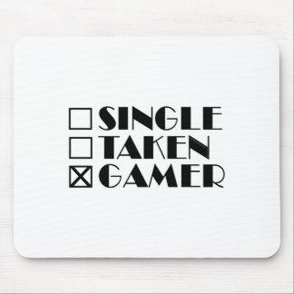 Single Taken or Gamer Mouse Pad
