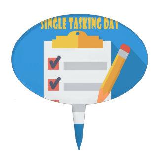 Single Tasking Day - Appreciation Day Cake Topper