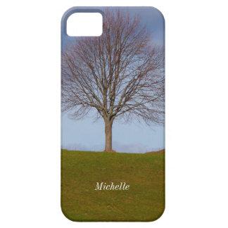 Single Tree nature photo, Personalized iPhone 5 iPhone SE/5/5s Case
