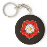 Single Tudor Rose Keychain