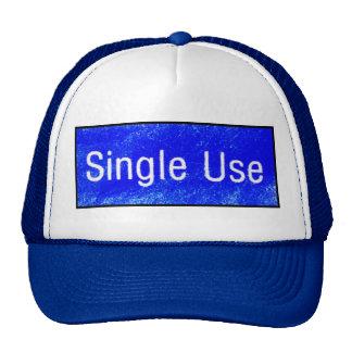 SINGLE USE CAP TRUCKER HAT