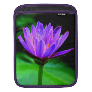 Single Water Lily Sleeve For iPads