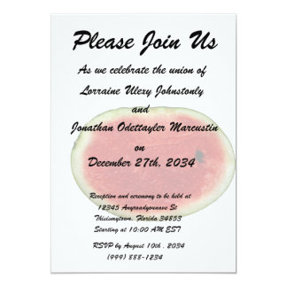 single watermelon slice graphic card
