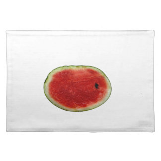 single watermelon slice graphic cloth placemat