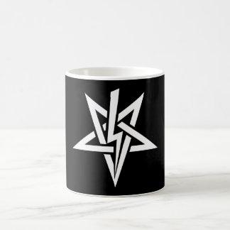 Single White Anton Szandor LaVey Sigil Mug