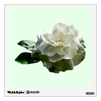 Single White Camellia Room Sticker