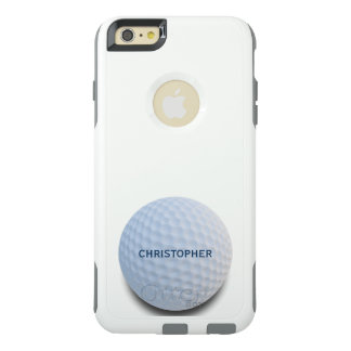 Single White Golf Ball Personalized OtterBox iPhone 6/6s Plus Case