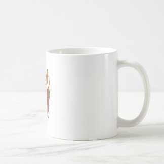 Single whole dragonfruit coffee mug