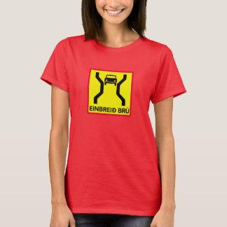 Single-Width Bridge, Traffic Sign, Iceland T-Shirt