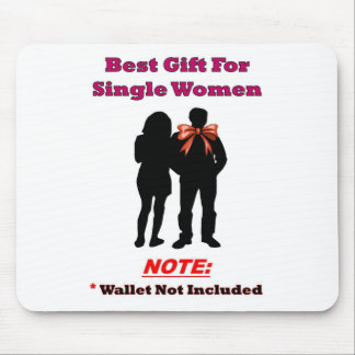 Single Woman Gift Full Mouse Pad