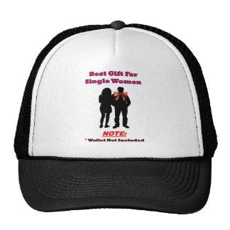 Single Woman Gift Full Trucker Hat