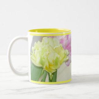 Single Yellow Flower Mug