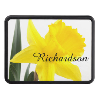 Single Yellow Narcissus Daffodil Hitch Cover
