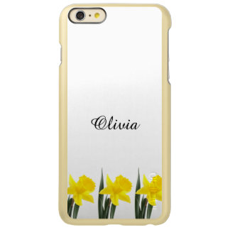 Single Yellow Narcissus Daffodil Incipio Feather Shine iPhone 6 Plus Case