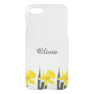 Single Yellow Narcissus Daffodil iPhone 8/7 Case