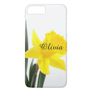 Single Yellow Narcissus Daffodil iPhone 8 Plus/7 Plus Case