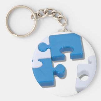 SingledPiecePuzzle101310 Keychain