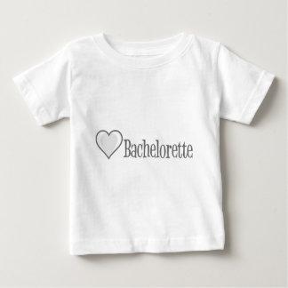 SingleHeart-Bachelorette-Gris Playera De Bebé