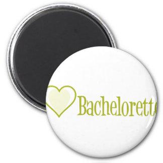 SingleHeart-Bachelorette-Ylw Imán De Frigorifico